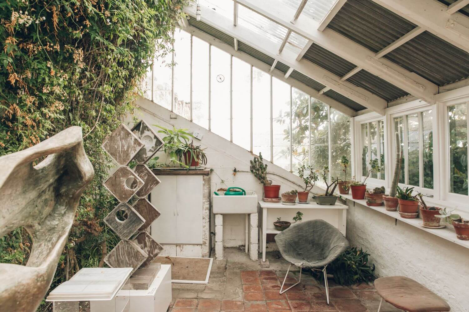 BARBARA HEPWORTH'S SEASIDE HOME
