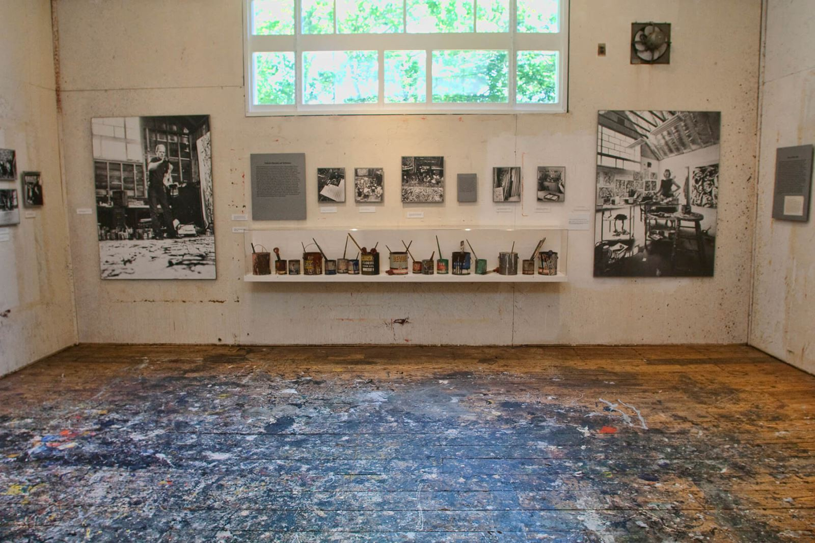 THE SHARED SPACE OF LEE KRASNER AND JACKSON POLLOCK