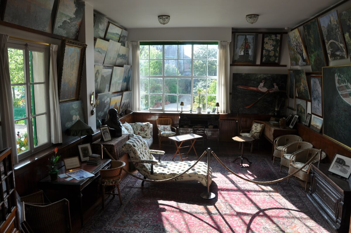 CLAUDE MONET'S HOME STUDIO