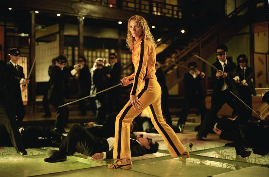 kill bill yakuza sahnesi