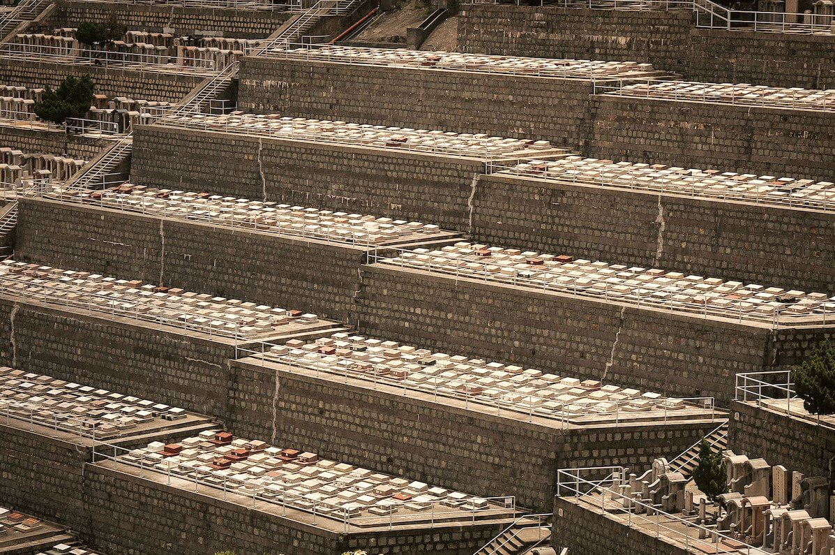 Hong Kong'un Dikey Mezarlıkları