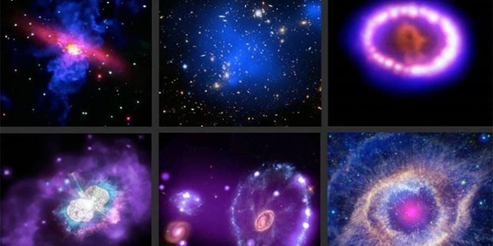 Chandra Teleskobundan Uzay Görüntüleri