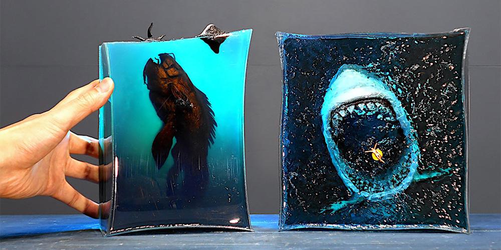Tüyler Ürpertici Okyanus Dioramaları