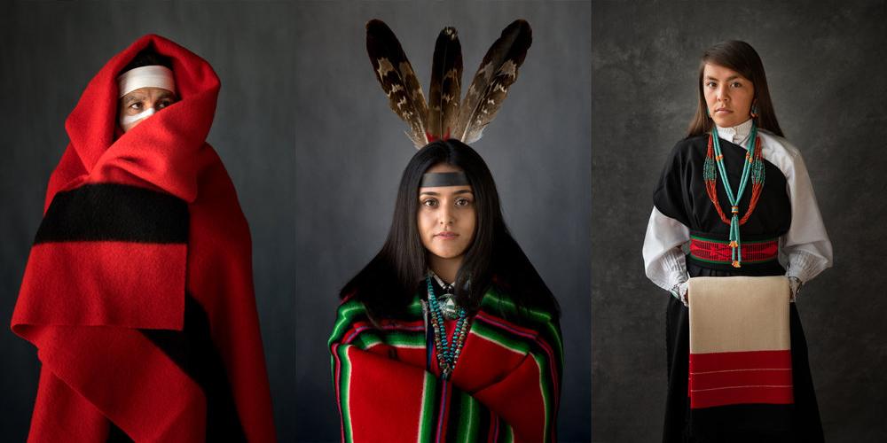 Yerli Amerikalıların Güçlü Portreleri
