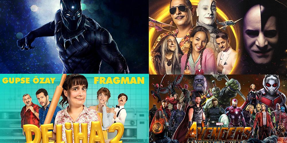 2018'in ilk 6 ayında bu filmler izlendi