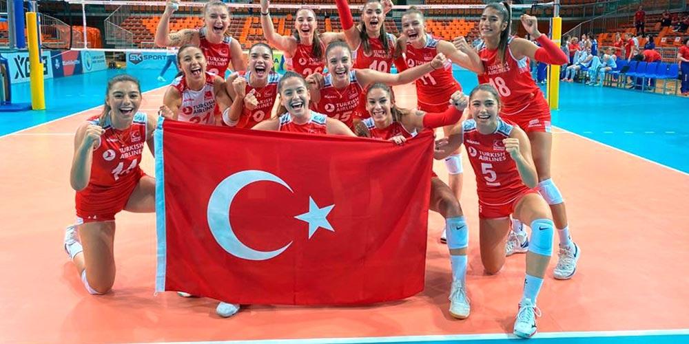 2020 CEV U19 Şampiyonu Türkiye