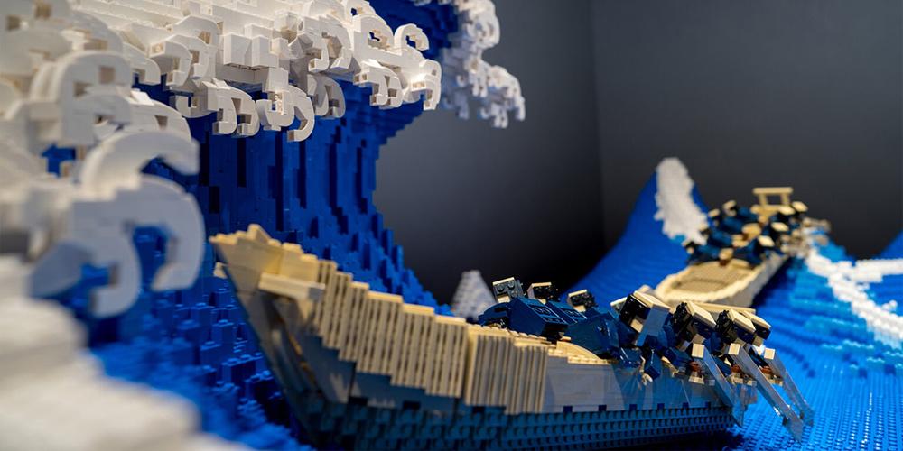50.000 Legodan Oluşan Büyük Dalga