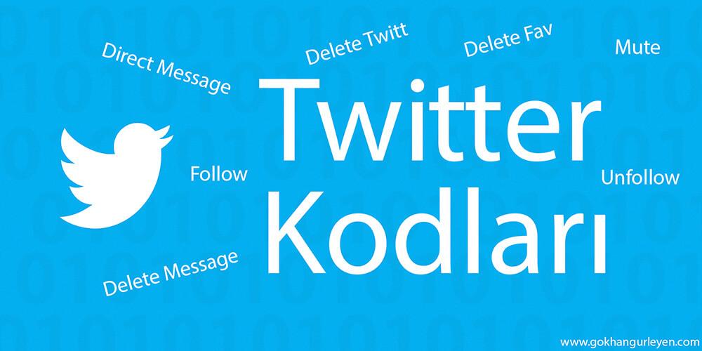 Twitter Kodları