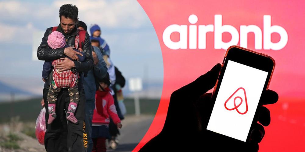 Airbnb, Afgan Mültecilere Konut Sunuyor