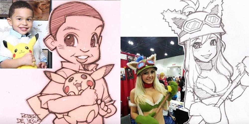 Animesever Sanatçının Ünlü Karikatürleri