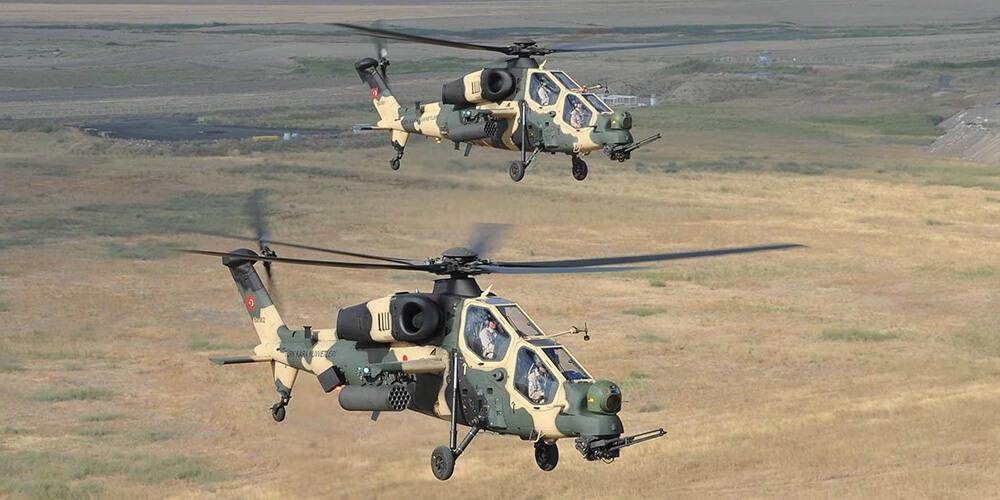 ATAK Helikopterinin Teknik Özellikleri