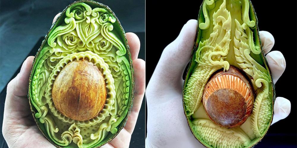 Avokado ile Sansasyonel Yemek Sanatı