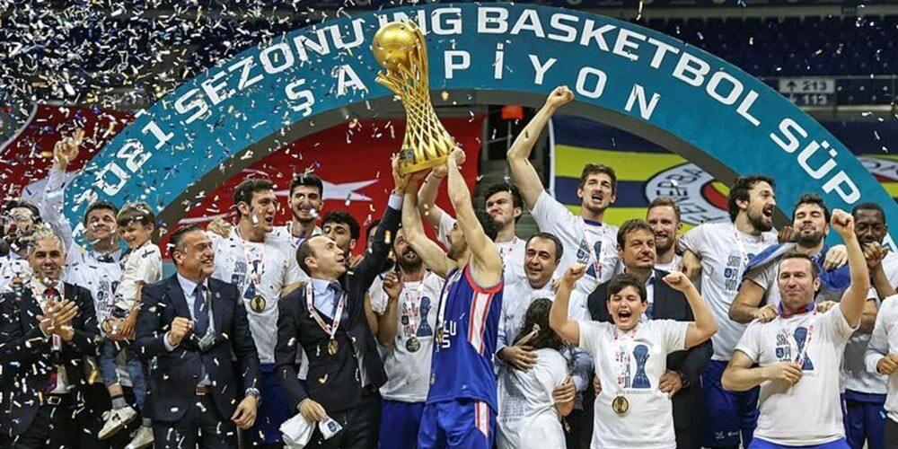 Basketbol Süperlig 2021 Şampiyonu Efes