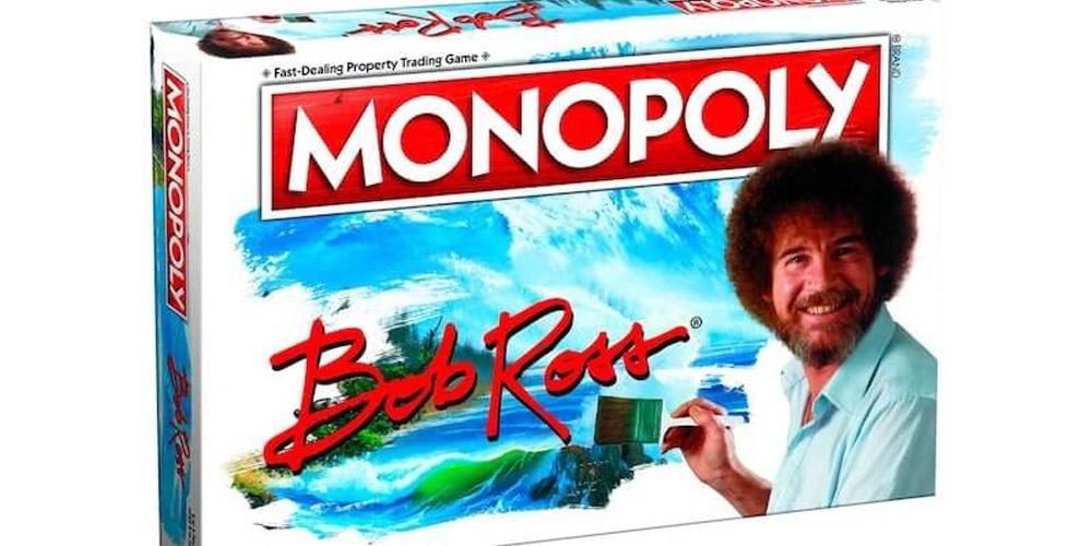 Bob Ross Temalı Monopoly
