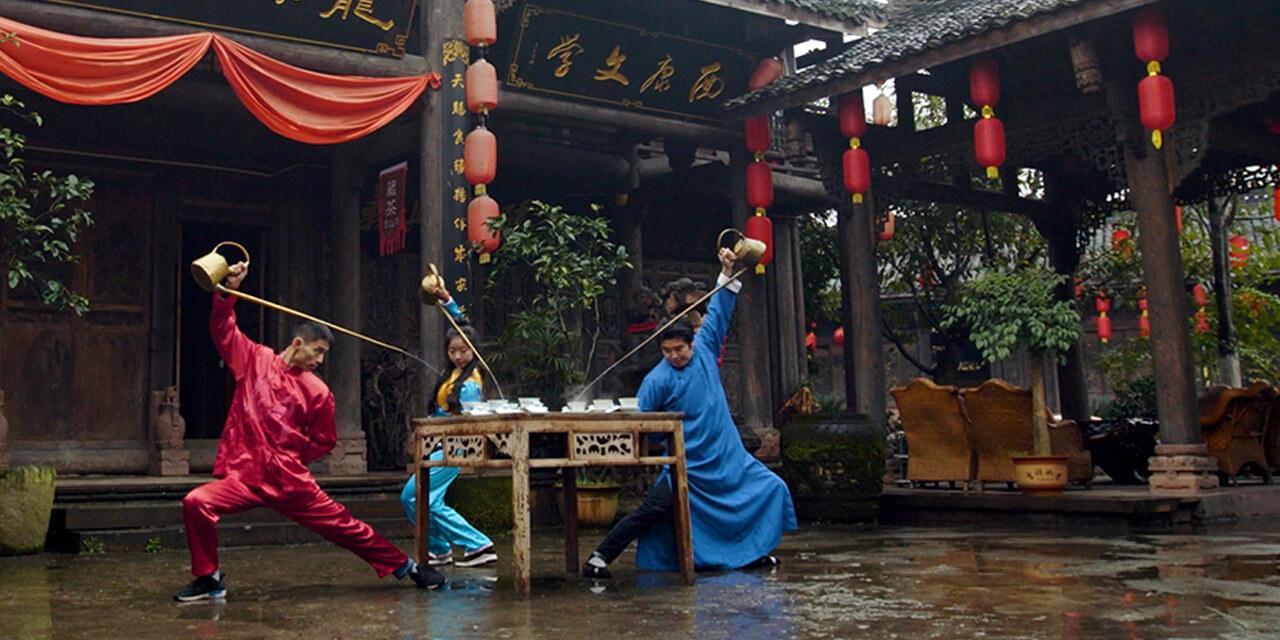Büyüleyici Çin Çay Seremonisi