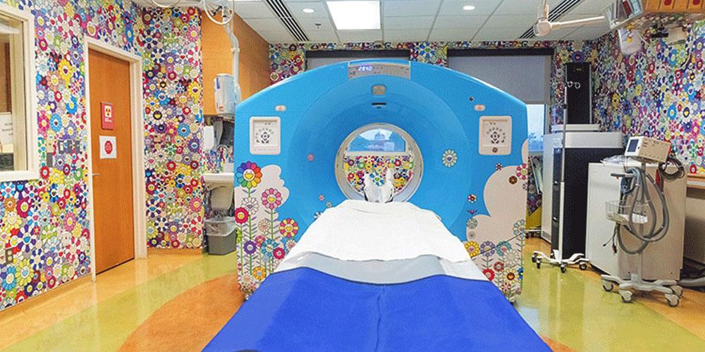 Çocuk Hastanelerini Süsleyen Çizimler