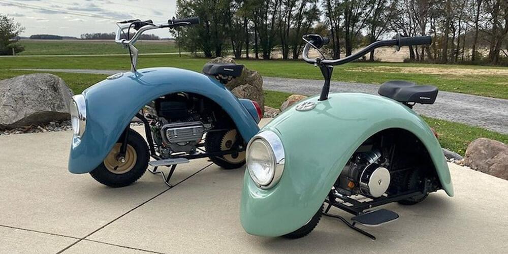 Dünyadaki En Tatlı Minibike: Volkspod