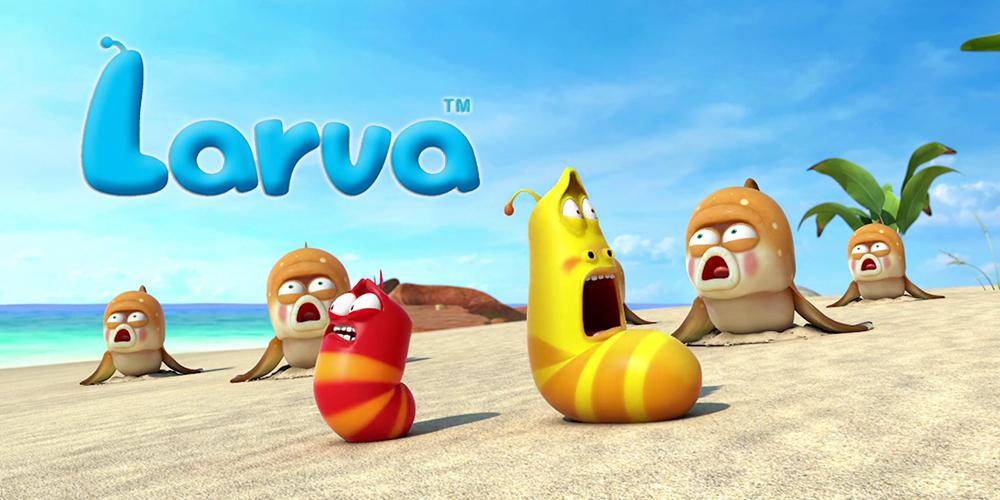 Eğlenceli Animasyon Serisi: Larva