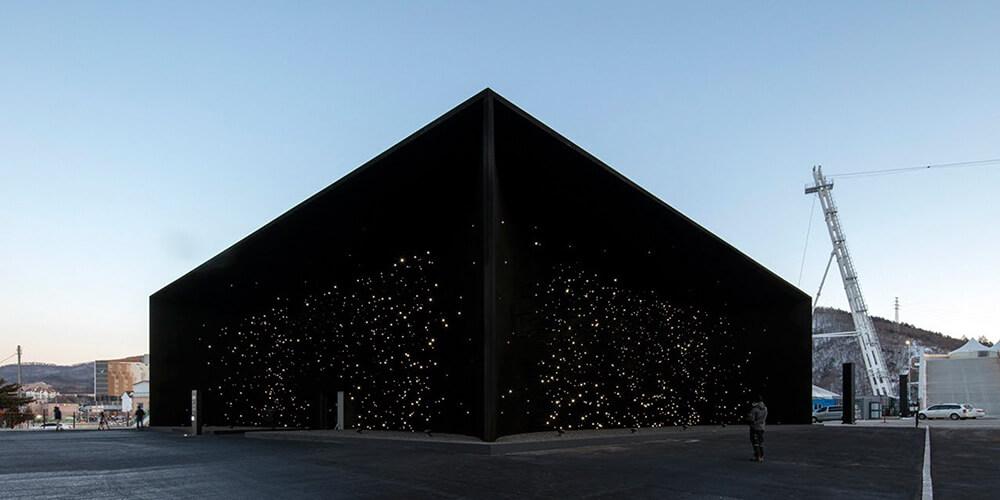 En Karanlık Mimari: Vantablack Köşkü