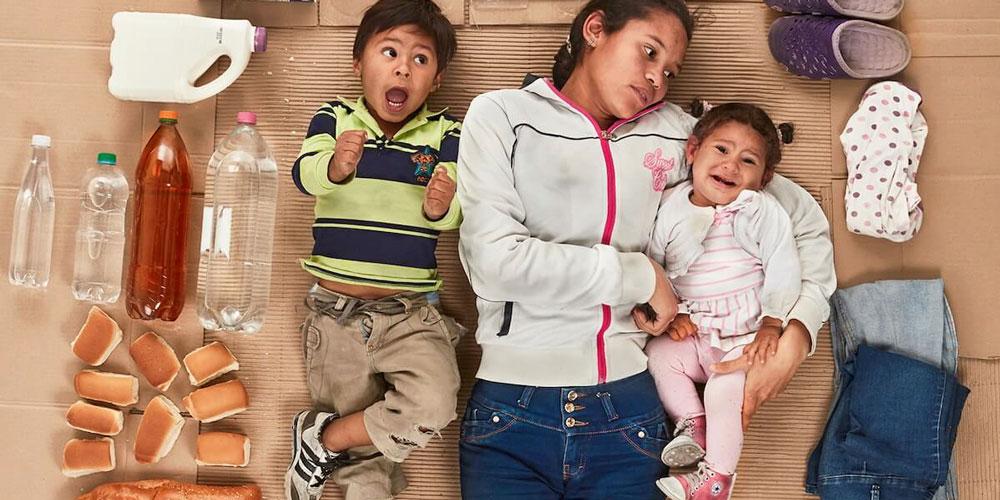 Tüm Eşyalarıyla Venezuelalı Mülteciler