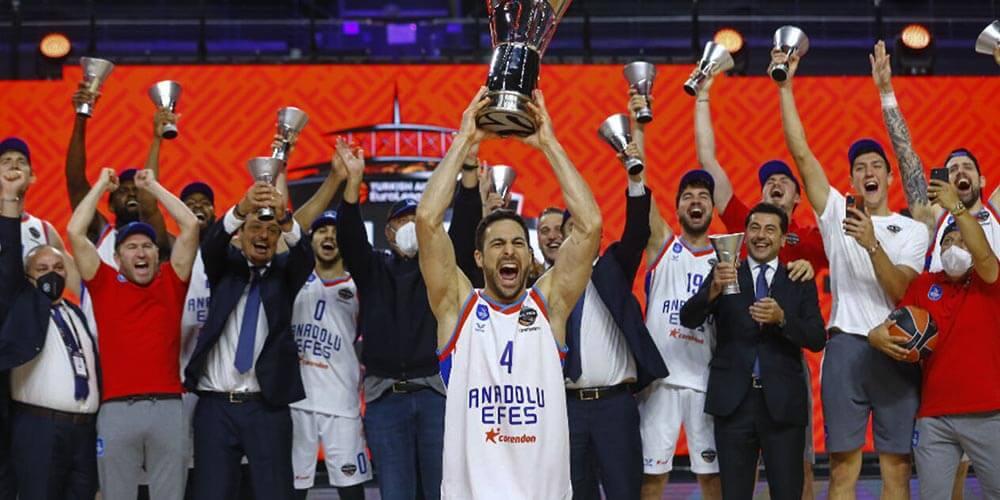 Euroleague 2021 Şampiyonu Anadolu Efes