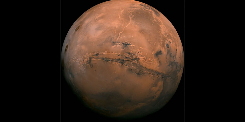 Gezegenin Dev Kanyonu: Valles Marineris