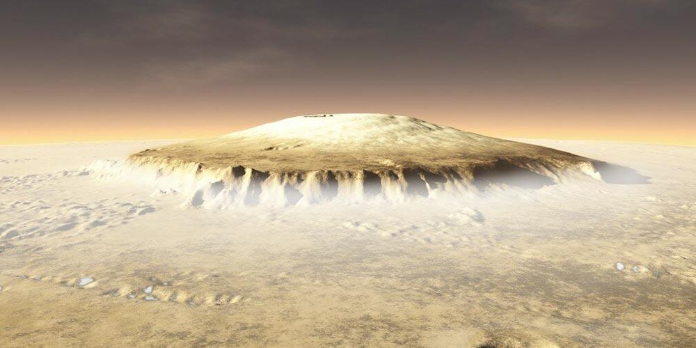 Güneş Sistemindeki En Yüksek Dağ