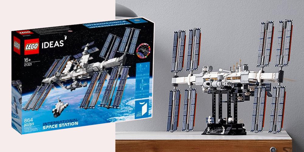 ISS'in Yörüngedeki 20. Yılına Özel Lego