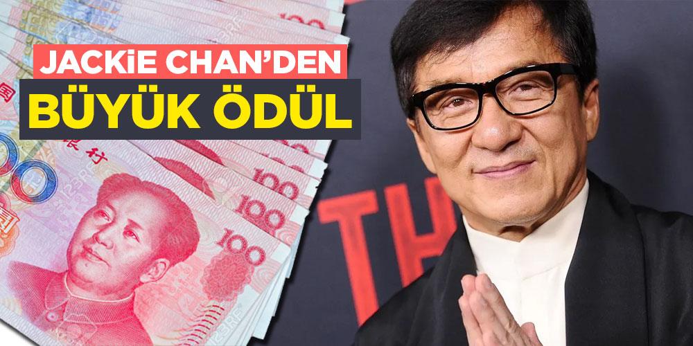 Jackie Chan'den Büyük Ödül