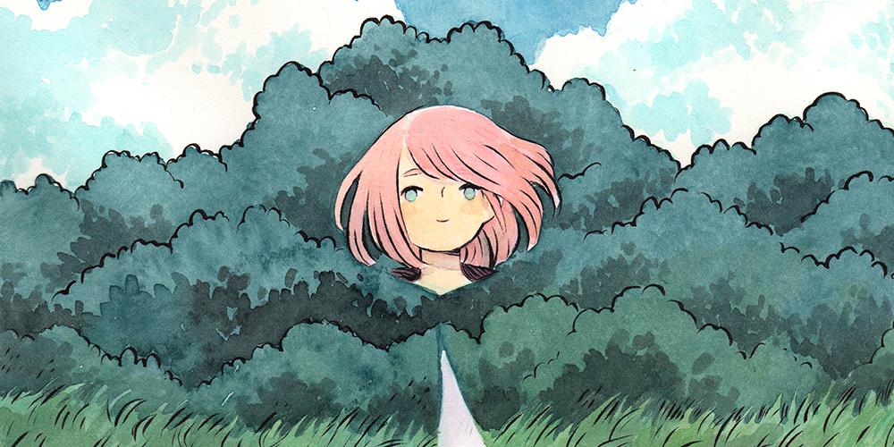 Japon Animesi Esintili İsveç Çizimi
