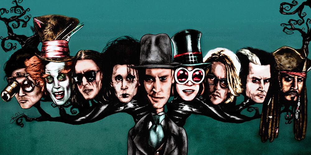 Johnny Depp'in En Sevilen 5 Karakteri