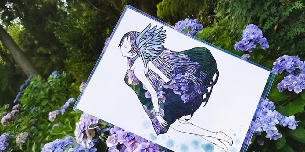 Kirie Sanatıyla Doğada Canlanan Periler
