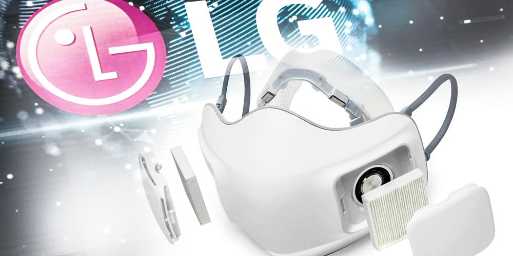LG'den Yeni Tip Yüz Maskesi: PuriCare