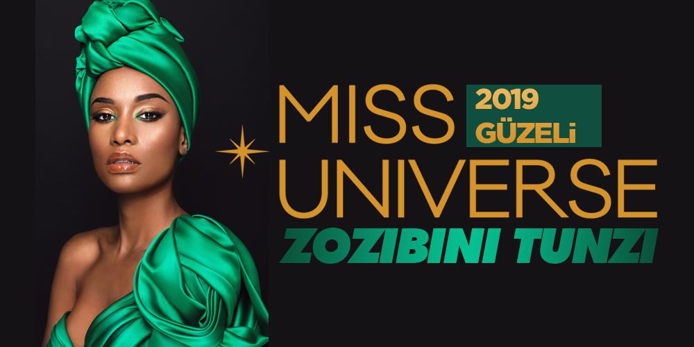 Miss Universe 2019 Güzeli Seçildi