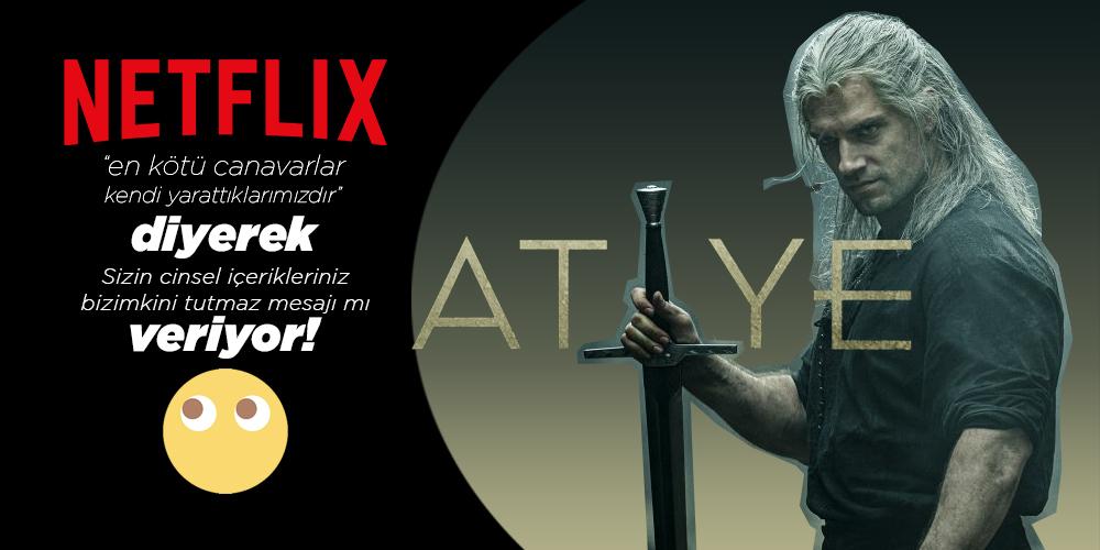 Netflix, Atiye'nin Afişini Kılıçladı
