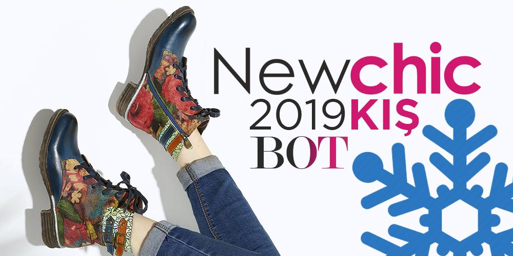 NewChic 2019 Kış Botları Göz Dolduruyor