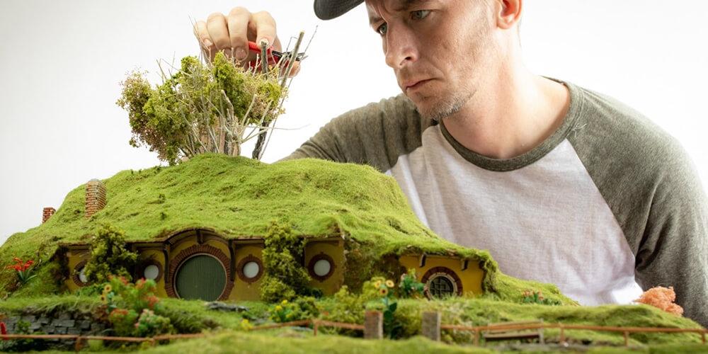 Nicholas Busch'un Çarpıcı Dioramaları