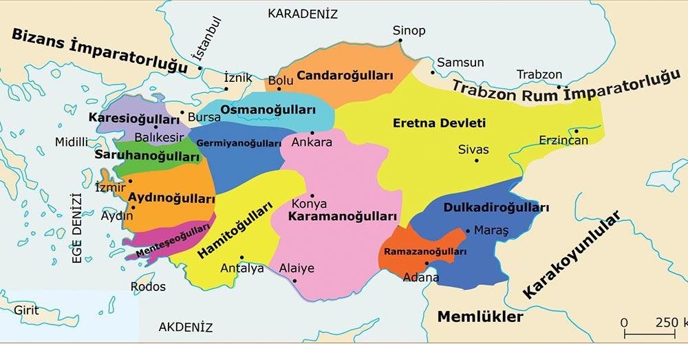 Osmanlı Devleti'nin Kuruluş Dönemi