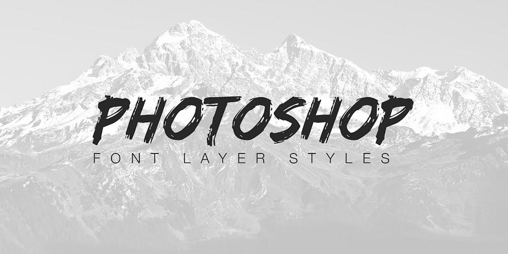 Photoshop'a Font Nasıl Eklenir?