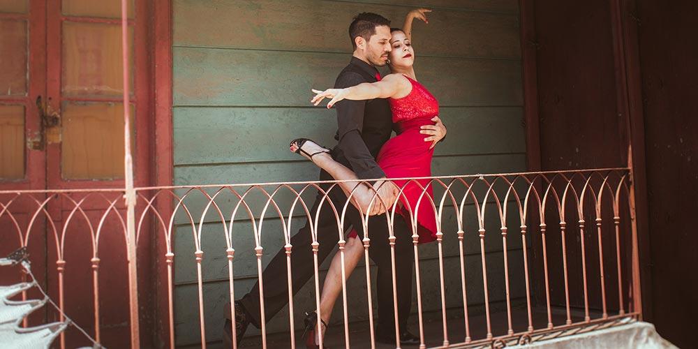 Teatral Dans: Tango