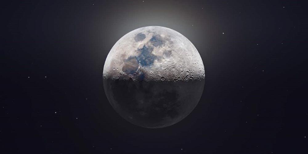 Ultra Yüksek Çözünürlüklü Ay Fotoğrafı