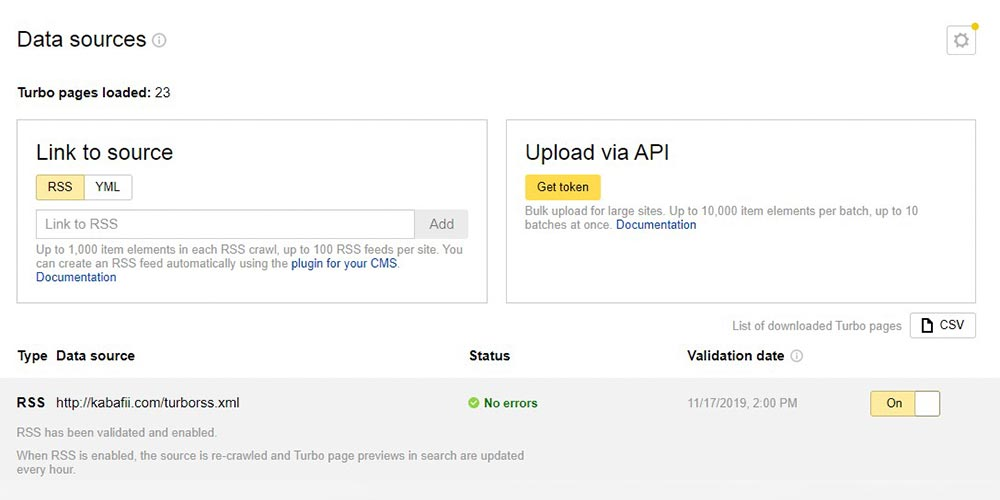 Yandex Turbo Page Hazırlama