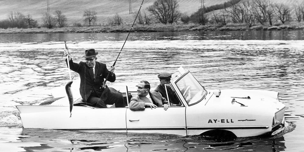 Yüzen Araba Amphicar